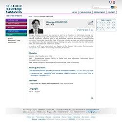 Georgie COURTOIS - De Gaulle Fleurance & Associés