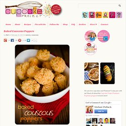 Baked Couscous Poppers. These baked couscous poppers are brown and ...