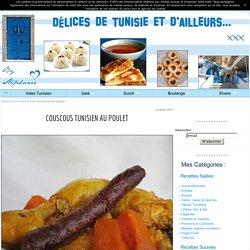 Couscous Tunisien au Poulet - Délices de Tunisie