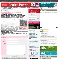 Coussay-les-Bois : les travaux de la ferme-usine lancés