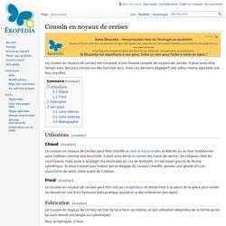 Coussin en noyaux de cerises — Ekopedia
