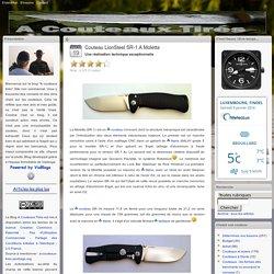 Couteau LionSteel SR-1 A Moletta