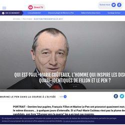 Qui est Paul-Marie Coûteaux, l'homme qui inspire les discours quasi-identiques de Fillon et Le Pen ? - LCI