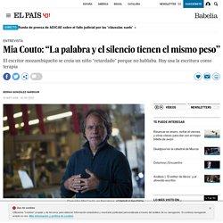 """Mia Couto: """"La palabra y el silencio tienen el mismo peso"""""""