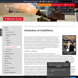 Coutumes et traditions maltaises