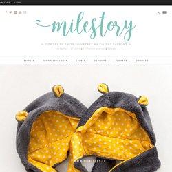 DIY couture : Tuto Bonnet ourson bébé / enfant - Milestory