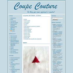 Les points de broderie Archives