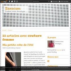 couture femme - Zazacam