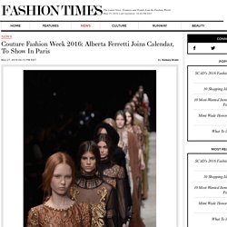 Couture Fashion Week 2016: Alberta Ferretti Joins Calendar, To Show In Paris