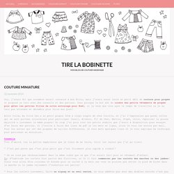 Couture miniature