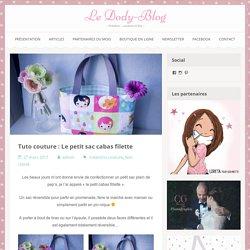 Tuto couture : Le petit sac cabas filette - Le Dody-Blog