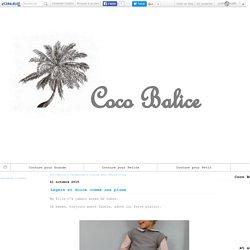 Couture pour Petite Fille - Coco Balice