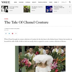 Behind The Scenes Chanel Couture In Detail Video Pictures