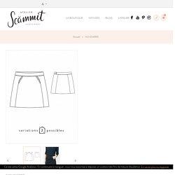 patron de couture pdf ou pochette jupe femme Novembre