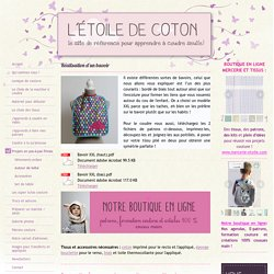 Vidéo couture : projets pour bébé - Le site pour apprendre à coudre seul(e) !