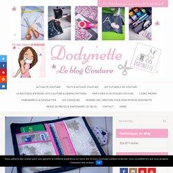 "Tuto couture vidéo : Le porte carte de soirée ""Jolly"" - Les tutos couture de Dodynette"