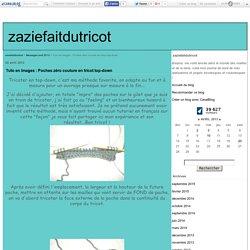 Tuto en images : Poches zéro couture en tricot top-down - zaziefaitdutricot
