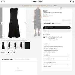 DKNY Robe à Coutures Contrastantes - Farfetch
