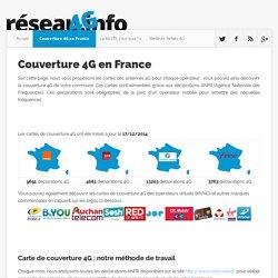 Couverture 4G en France