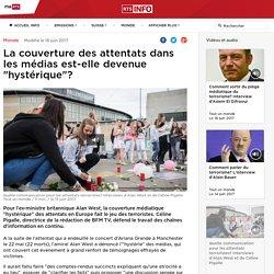 """La couverture des attentats dans les médias est-elle devenue """"hystérique""""? - rts.ch - Monde"""