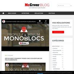 Découvrez comment poser une couverture en polycarbonate - McCover