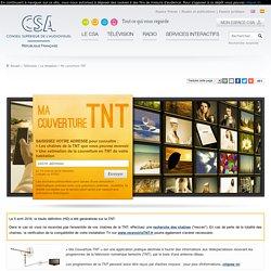 Ma couverture TNT / La réception / Télévision