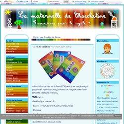 Couvertures de cahiers - La maternelle de Chocolatine