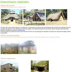 Couvertures végétales