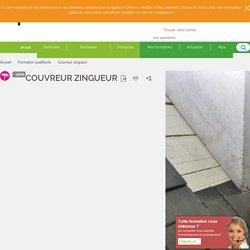 Couvreur zingueur - formation qualifiante