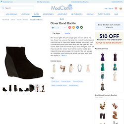 Cover Band Bootie | Mod Retro Vintage Boots