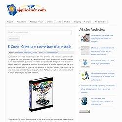 E-Cover: Créer une couverture d'un e-book
