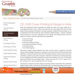 CD, DVD Cover Printing & Design in India