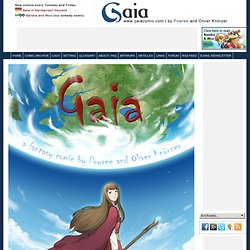 Gaia | Fantasy Webcomic Comic Graphic Novel | » Archive » Cover