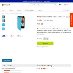 Buy Mozo Flip Cover for Nokia Lumia 635