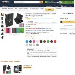 RC® Case Cover Stand for iPad 2 iPad 3 iPad 4: Amazon.co.uk: Electronics