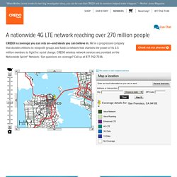 Coverage Map : CREDO Mobile