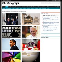 News topics, in depth coverage, pictures, video