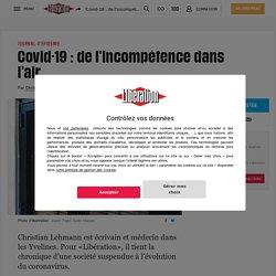 Covid-19 : de l'incompétence dans l'air