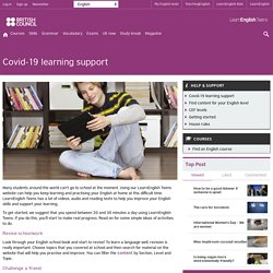 Covid-19 learning support