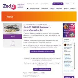 Covid-19 #POCUS resources - Zedu
