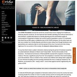 COVID-19 – Rise in Domestic Abuse