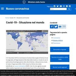 Covid-19 - Situazione in Italia e nel mondo