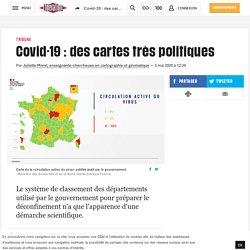 Covid-19: des cartes très politiques