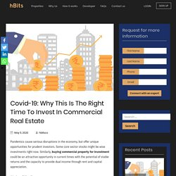 Covid-19: The Right Time To Buy Commercial Property