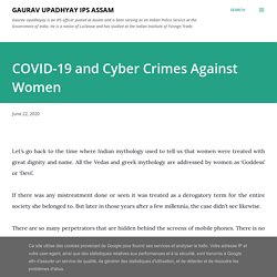 COVID-19 and Cyber Crimes Against Women