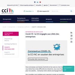 Covid-19 : la CCI engagée aux côtés des entreprises