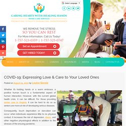 COVID-19: Expressing Love & Care to Your Loved Ones
