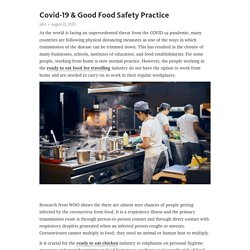 Covid-19 & Good Food Safety Practice