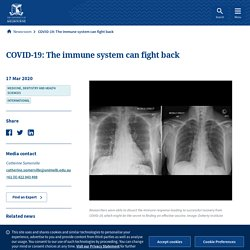 COVID-19: The immune system can fight back