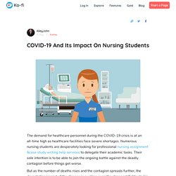 COVID-19 And Its Impact On Nursing Students